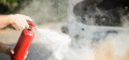 car fire extingusher