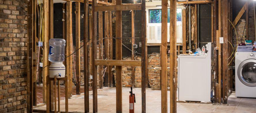 home flood damage repair